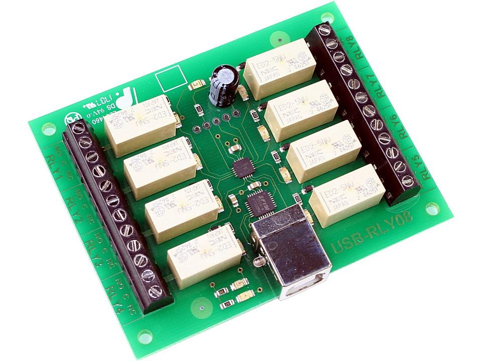 Circuito Usb : Circuito controlador de reles usb rly