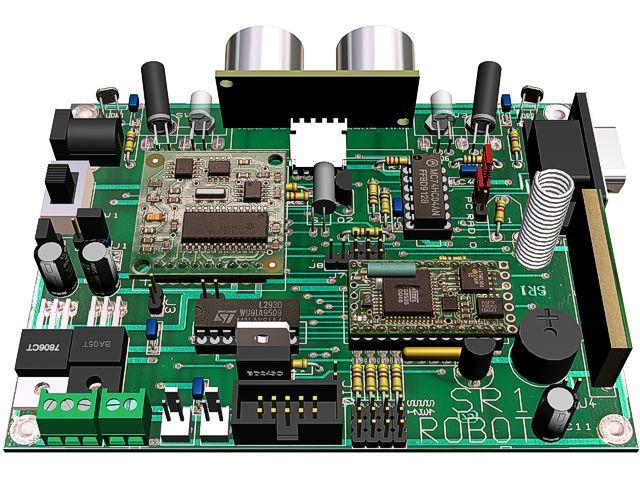 Circuito Electronico : Avances en robotica sr robot movil multifuncional